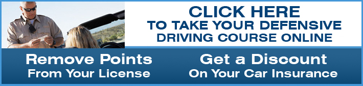 Defensive Driving Course Remove Points